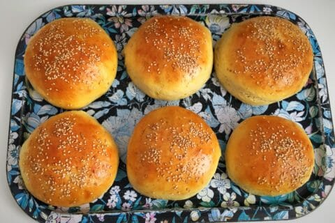 Pains hamburger Thermomix par Carikill