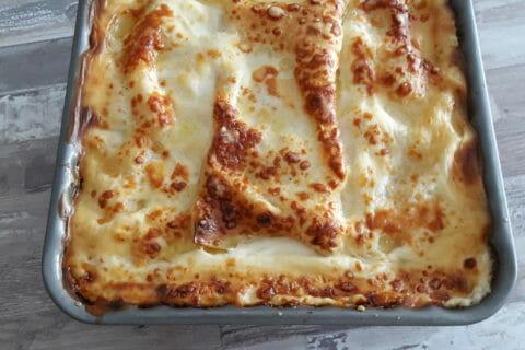 Lasagnes au saumon et poireaux Thermomix par Unboutdailleurs