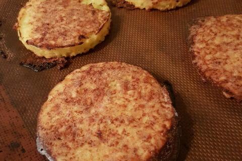 Galettes de pommes de terre au four Thermomix par Lince 54