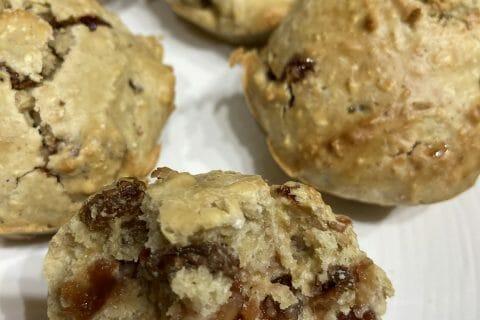 Muffins au son d'avoine et aux pépites de chocolat au Thermomix
