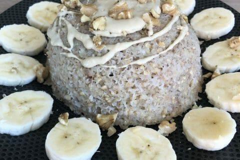 Bowl cake banane et pépites de chocolat Thermomix par Aurelie247