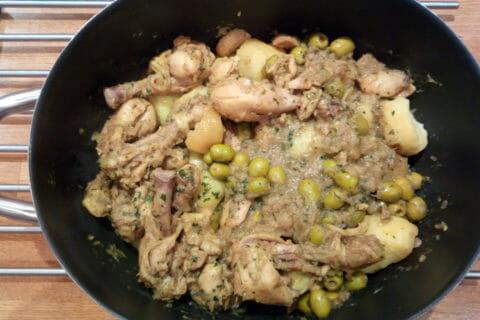 Tajine de poulet aux olives Thermomix par Nab80