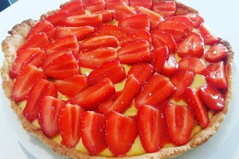Tarte aux fraises Thermomix par Flo24