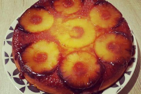 Gâteau renversé à l'ananas Thermomix par Flo24