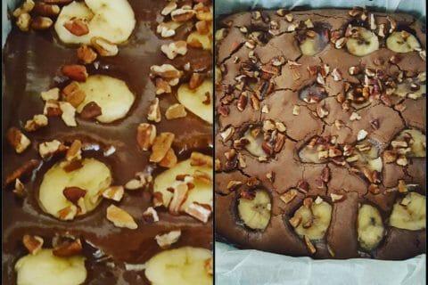 Brownie fondant choco-banane au Thermomix