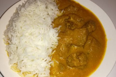 Curry de boeuf Thermomix par Roge