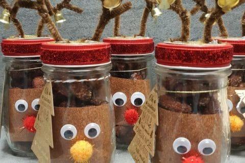 Amandes grillées à la cannelle et au miel Thermomix par Mivael091216