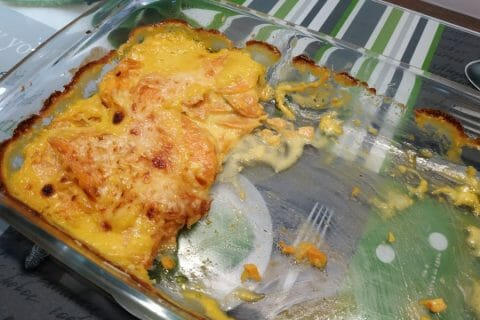 Gratin de patates douces Thermomix par Mireil