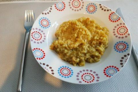 Risotto crevettes et curry Thermomix par Catherine59215