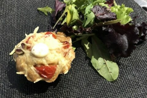 Muffins salés façon pizza Thermomix par Marie