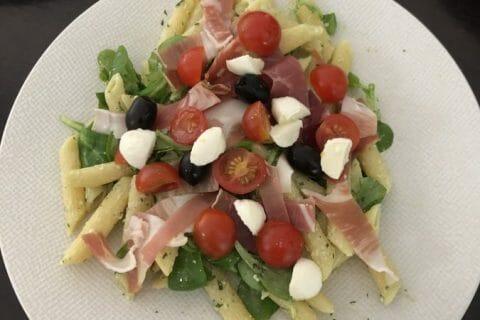Salade de penne à l'italienne Thermomix par Marie