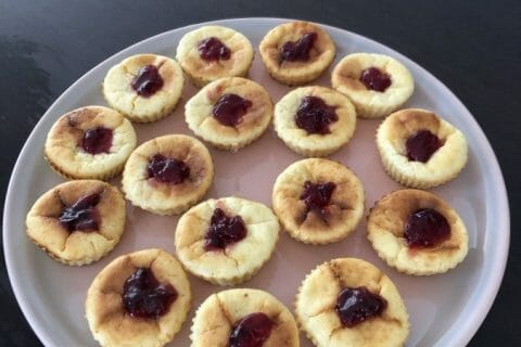 Mini cheesecakes express Thermomix par Marie