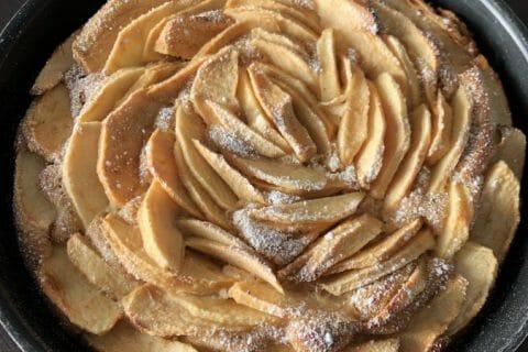 Gâteau aux pommes et mascarpone Thermomix par Marie