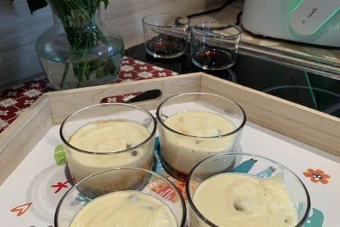 Gâteau de semoule aux raisins secs au Thermomix