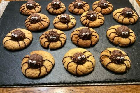 Spider cookies (cookies araignées) Thermomix par niniefrikette