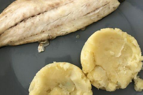 Ecrasé de pommes de terre à l'huile d'olive au Thermomix