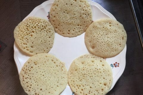 Baghrir (crêpes mille trous) au Thermomix