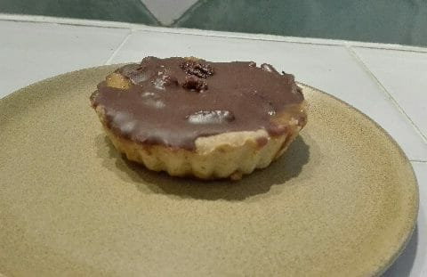 Tarte au chocolat et cacahuètes caramélisées Thermomix par SCSC