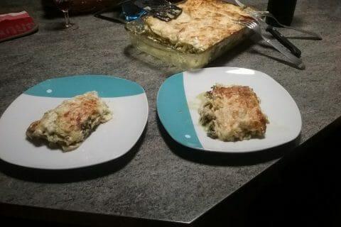 Lasagnes au saumon et poireaux Thermomix par Menina31