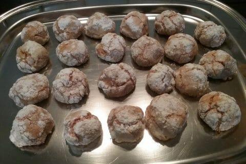 Craquelés aux biscuits roses de Reims Thermomix par Menina31