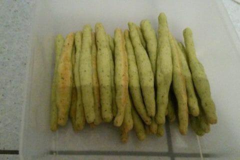 Gressins parmesan basilic Thermomix par Emydriase