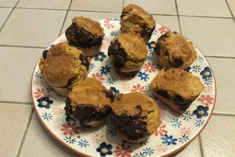 Muffins au son d'avoine et aux pépites de chocolat Thermomix par chocolatitine