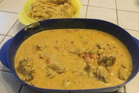 Sauté de porc au curry Thermomix par chocolatitine