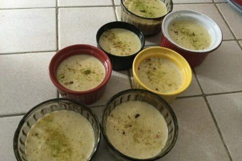 Crème dessert à la pistache Thermomix par chocolatitine