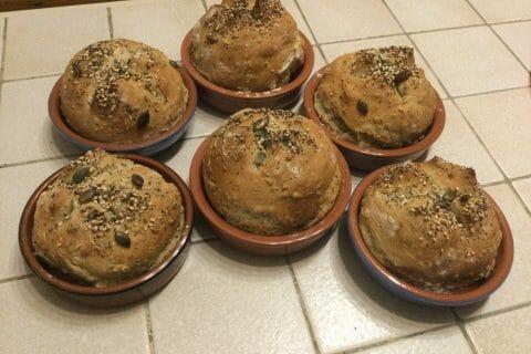 Petits pains aux céréales au Thermomix