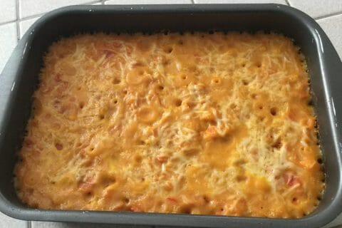 Gratin de courges butternut Thermomix par chocolatitine