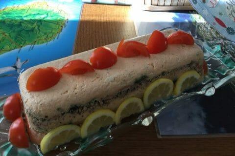 Terrine de saumon frais et fumé Thermomix par chocolatitine