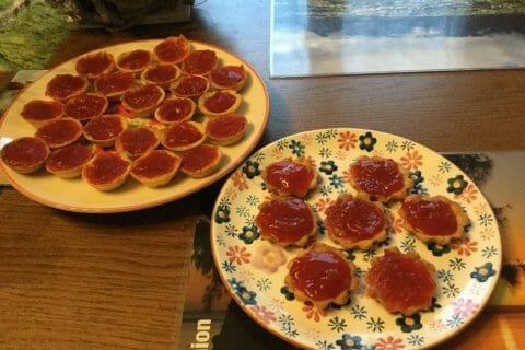 Mini tartelettes aux fraises Thermomix par chocolatitine