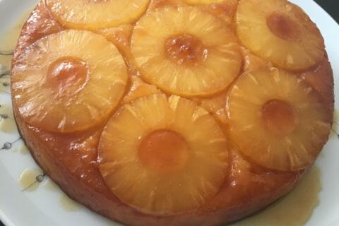 Recette gateau a l ananas express