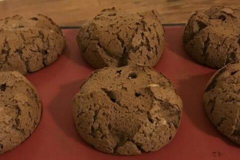 Muffins aux deux chocolats Thermomix par Leila1966