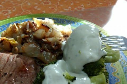 Brocolis sauce roquefort Thermomix par Zabettenal