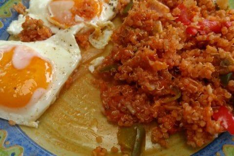 Quinoa sauce basquaise Thermomix par Zabettenal