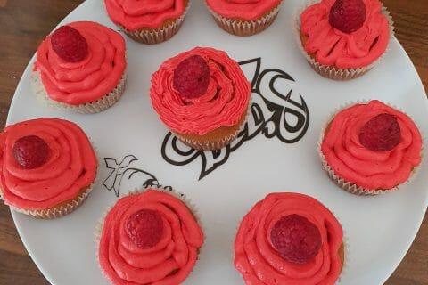 Cupcakes à la framboise au Thermomix