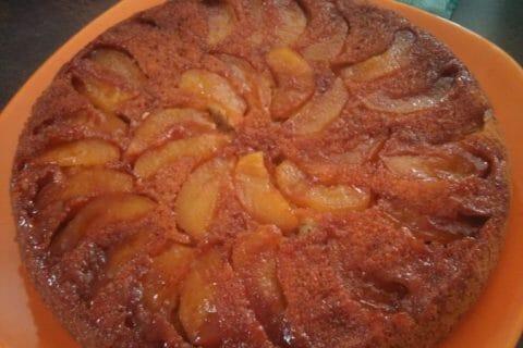 Gâteau renversé aux pommes caramélisées Thermomix par Isalune