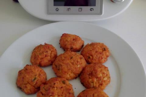 Croquettes de chou-fleur au jambon cru Thermomix par cassinette