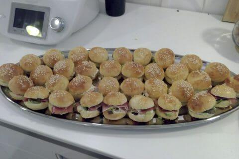 Mini burgers Thermomix par cassinette