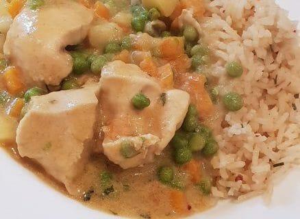 Poulet Thaï au curry Thermomix par Miloufranck