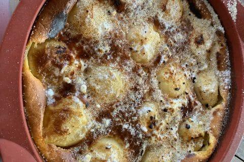 Flognarde aux pommes (clafoutis aux pommes) au Thermomix