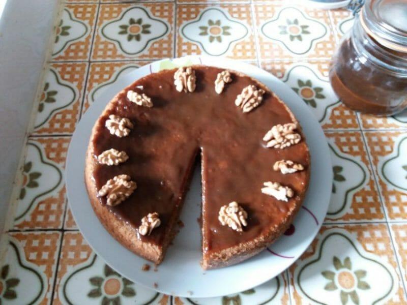 gâteau aux noix au thermomix - cookomix