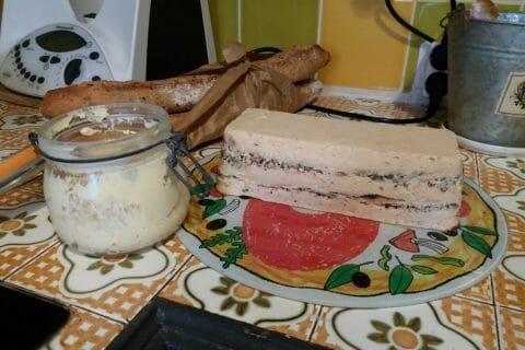 Terrine de saumon frais et fumé Thermomix par malta