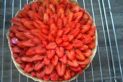 Tarte aux fraises au Thermomix