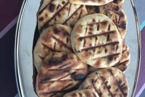Naans au fromage Thermomix par Florence65