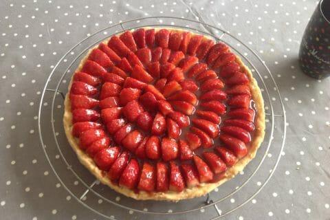 Tarte aux fraises Thermomix par pookie