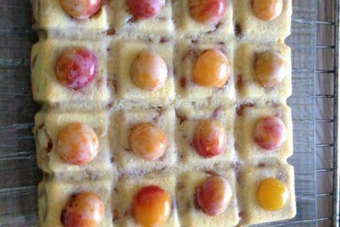 Gâteau Lorrain aux mirabelles au Thermomix