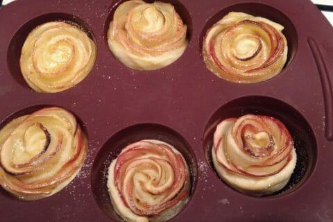 Roses feuilletées aux pommes Thermomix par natalese