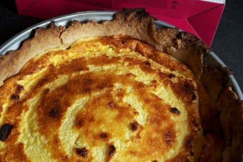 Tarte au fromage blanc Thermomix par Cococaromix
